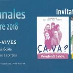 invitation automnales de théâtre à Aigues-Vives (Gard)
