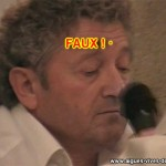 Jacky Rey, maire d'Aigues-Vives accusé d'avoir fabriqué une fausse delibération pour signer un contrat au profit du Crédit Agricole