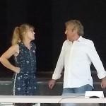 Jacky Rey et Martine Bavencoff se concertent avant le conseil municipal d'Aigues Vives du 24 juin 2020