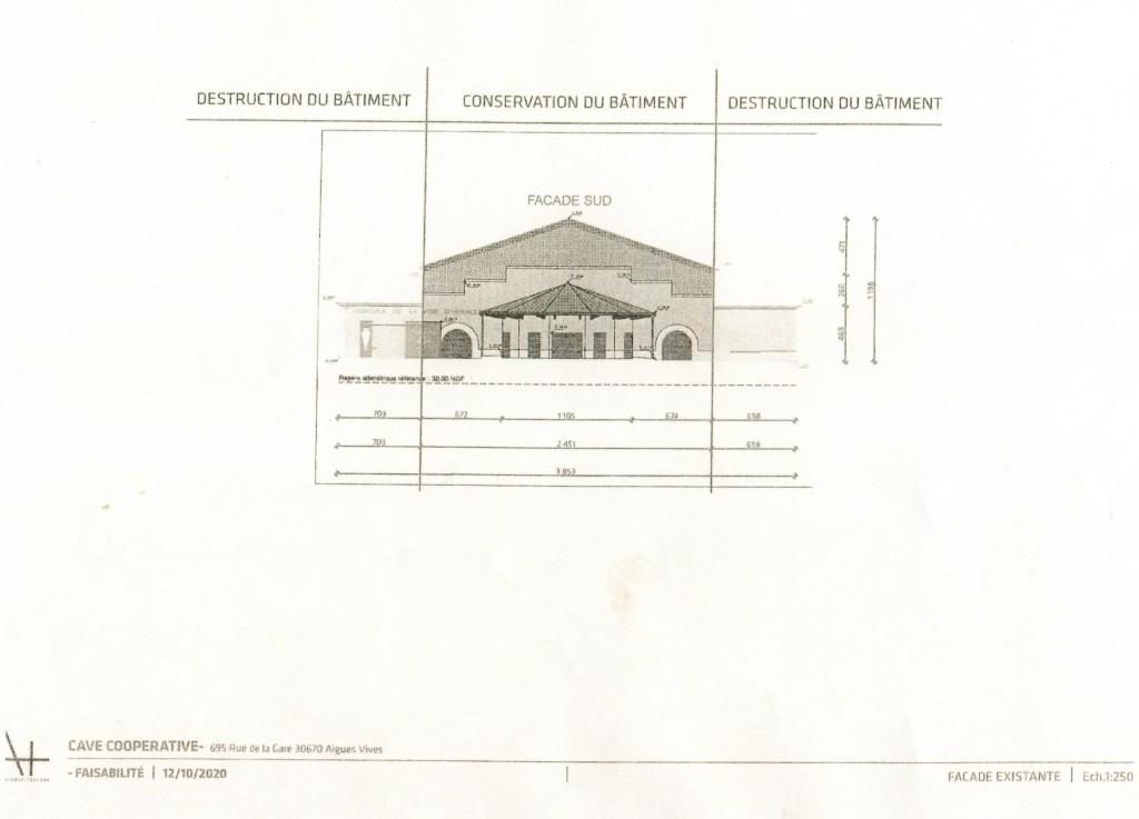 Photo 1 : Conservation du bâtiment.