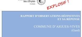 Explosif ! La Chambre Régionale des Comptes confirme la mauvaise gestion, le favoritisme et les multiples irrégularités commises par la municipalité REY depuis des années.